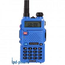 Baofeng UV-5R blue радиостанция портативная